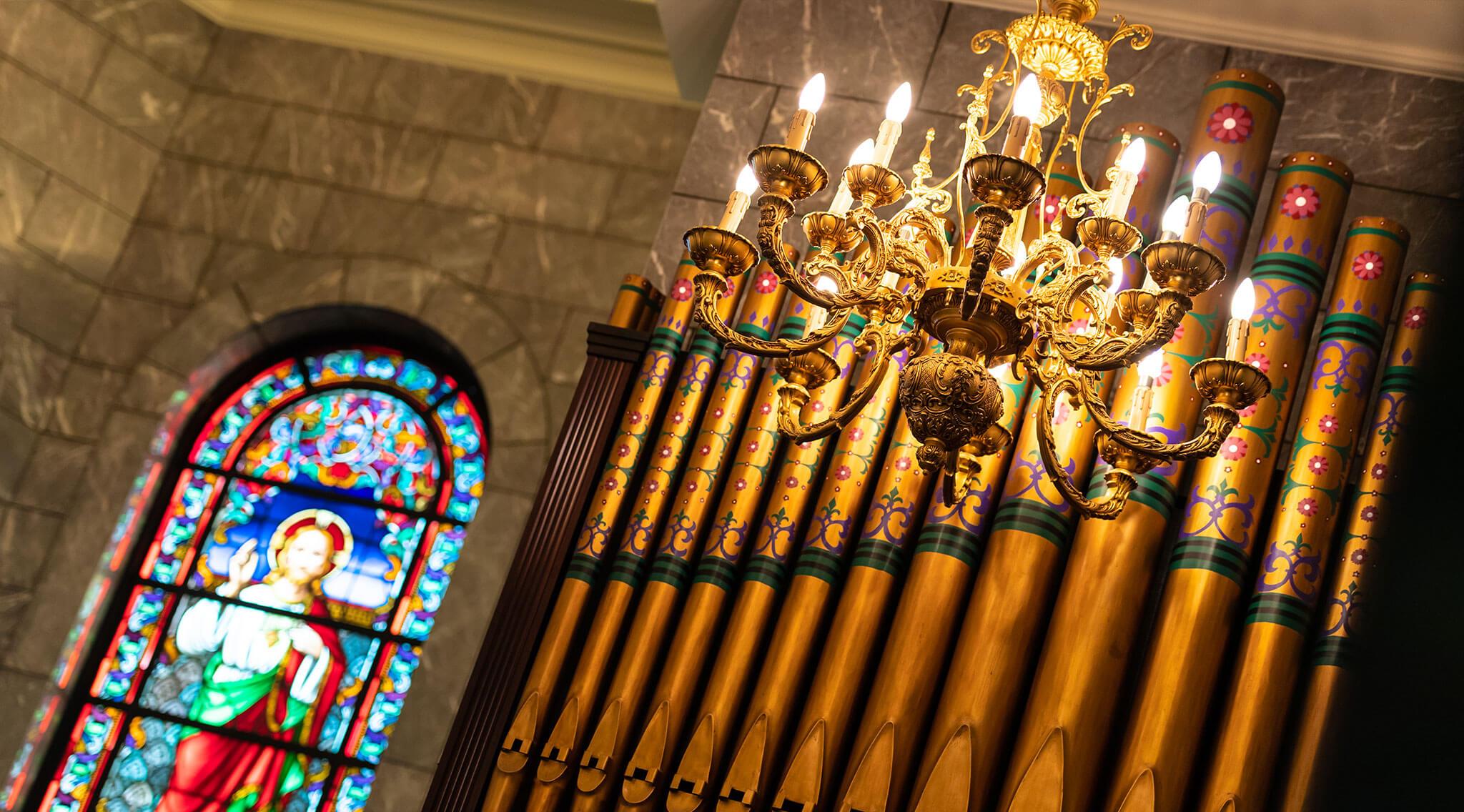 本格的な大聖堂