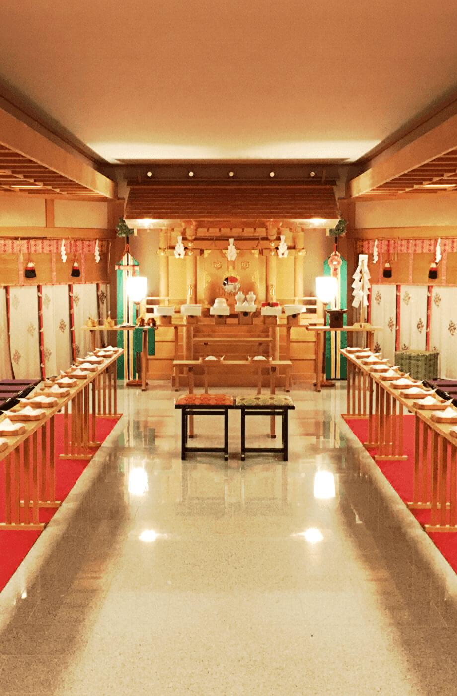 長崎の神前挙式 八雲殿